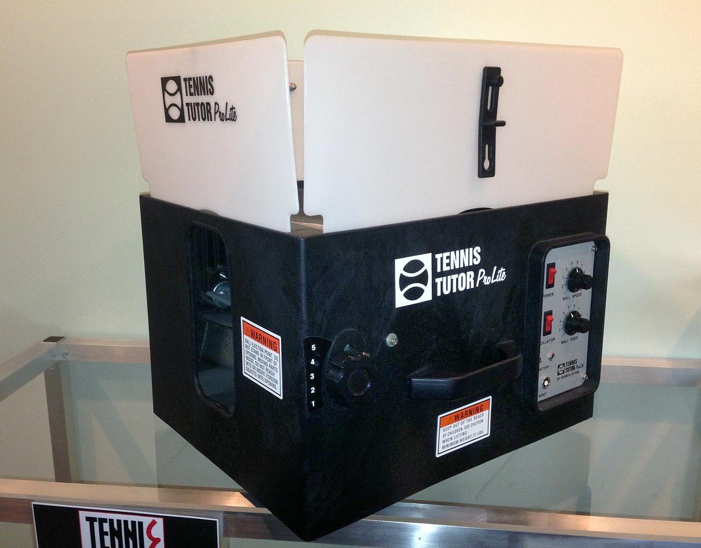 Tennis Ball Machines – New and used tennis ball machines